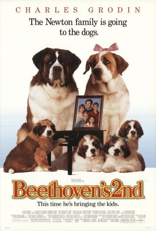 Beethoven's 2nd (1993) Main Poster