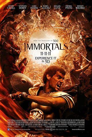 Immortals (2011) Main Poster