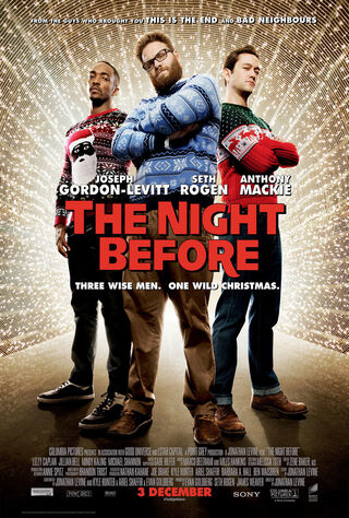 The Night Before (2015) Main Poster