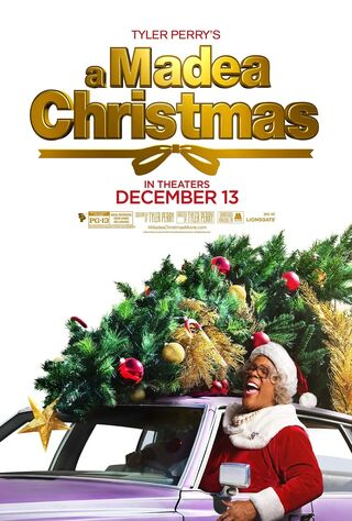 Tyler Perry's A Madea Christmas (2013) Main Poster