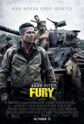 Fury (2014) Main Poster