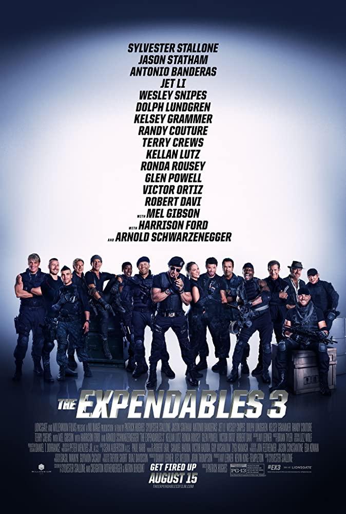 The Expendables 3 (2014) Poster #1