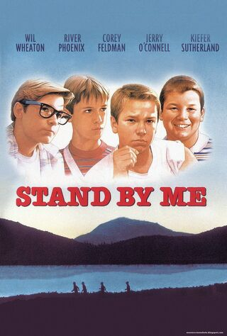 Stand By Me (1986) Main Poster