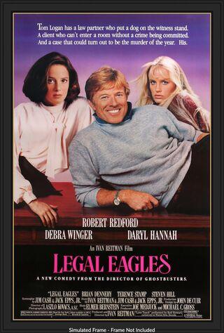 Legal Eagles (1986) Main Poster