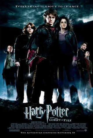 Harry Potter and the Goblet of Fire (2005) Main Poster