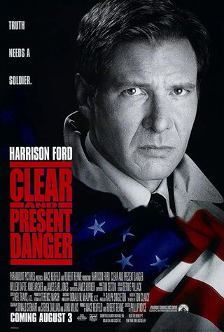 Clear And Present Danger (1994) Main Poster