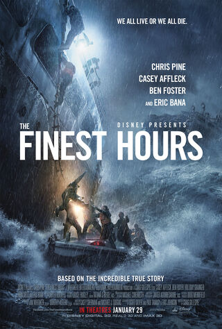 The Finest Hours (2016) Main Poster