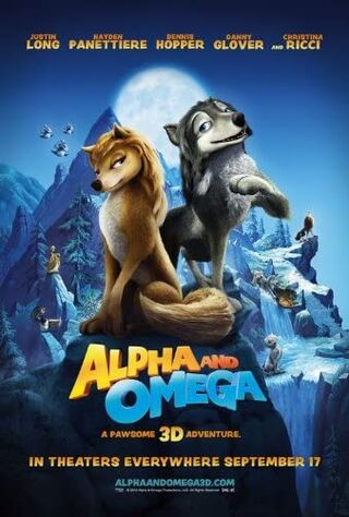 Alpha And Omega (2010) Main Poster