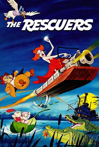 The Rescuers (1977) Main Poster
