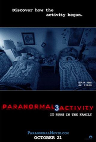 Paranormal Activity 3 (2011) Main Poster