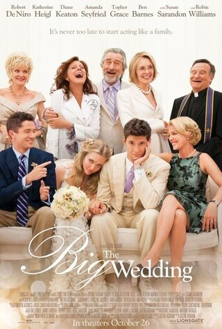 The Big Wedding (2013) Main Poster