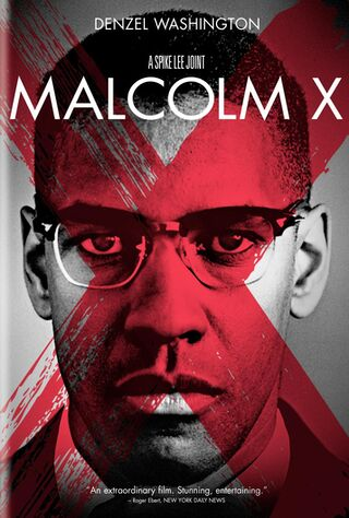 Malcolm X (1992) Main Poster