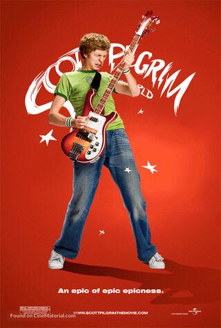 Scott Pilgrim Vs. The World (2010) Main Poster