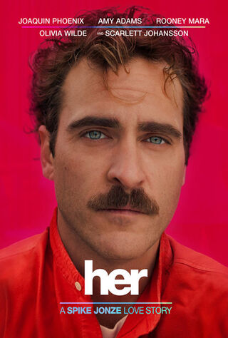 Her (2014) Main Poster