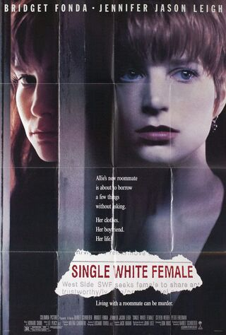 Single White Female (1992) Main Poster