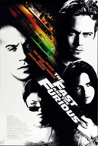The Fast And The Furious (2001) Main Poster