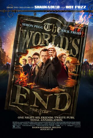 The World's End (2013) Main Poster