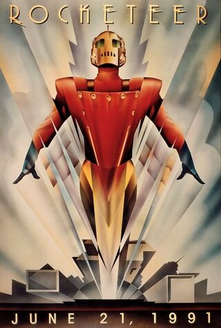 The Rocketeer (1991) Main Poster