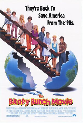 The Brady Bunch Movie (1995) Main Poster