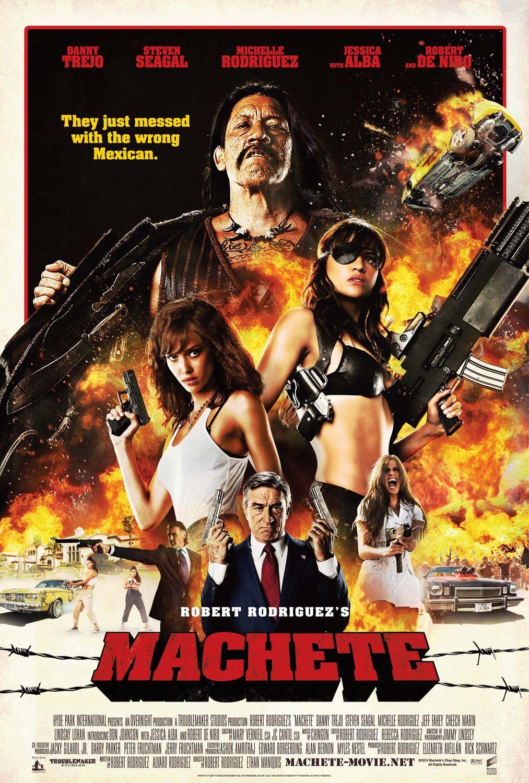 Machete (2010) Main Poster