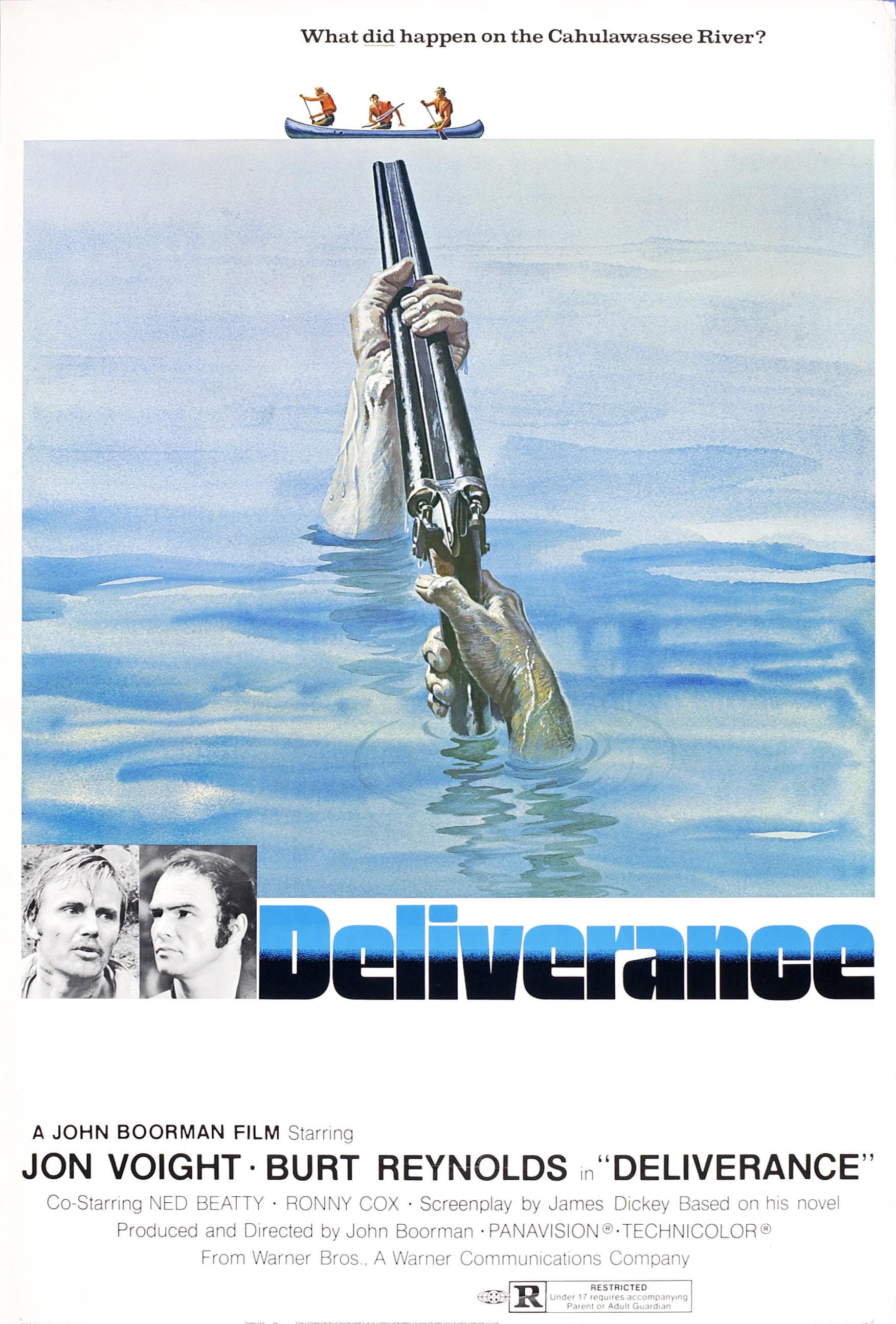 Deliverance (1972) Main Poster