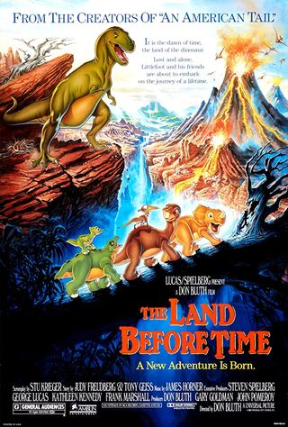 The Land Before Time (1988) Main Poster