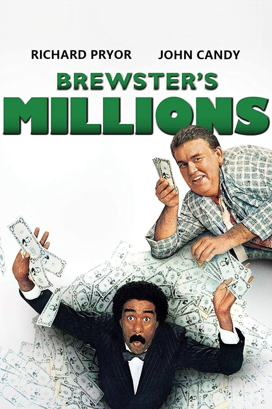 Brewster's Millions (1985) Main Poster