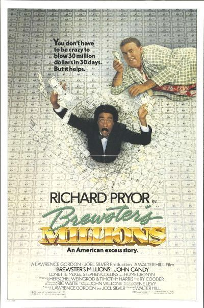 Brewster's Millions (1985) Poster #2