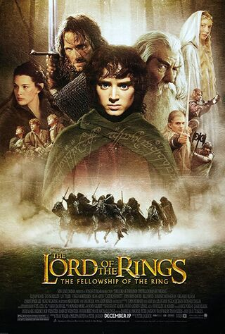 The Lord of the Rings: The Fellowship of the Ring (2001) Main Poster