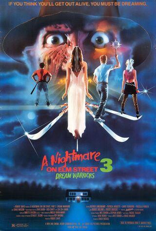 A Nightmare On Elm Street 3: Dream Warriors (1987) Main Poster