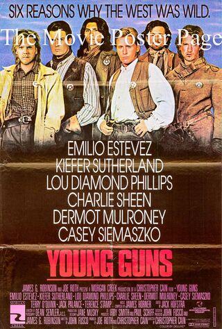 Young Guns (1988) Main Poster