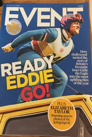 Eddie The Eagle (2016) Main Poster
