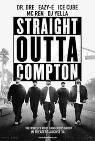 Straight Outta Compton (2015) Main Poster