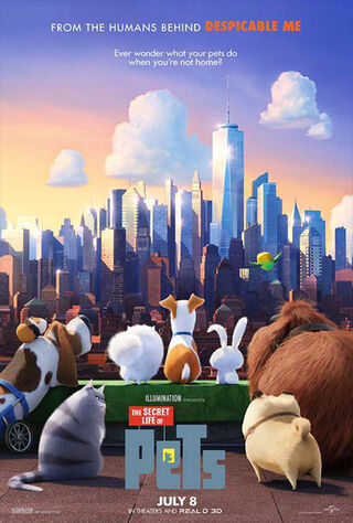 The Secret Life of Pets (2016) Main Poster