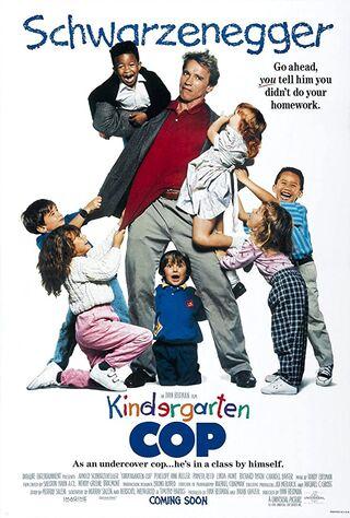 Kindergarten Cop (1990) Main Poster