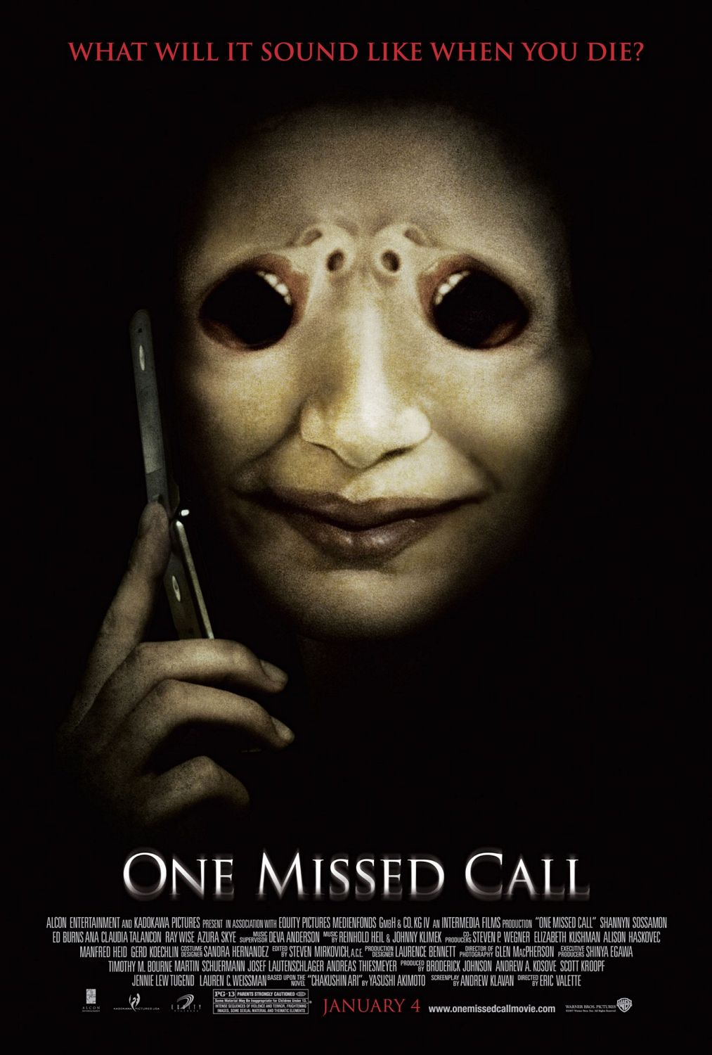 One Missed Call (2008) Main Poster