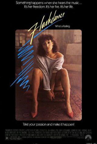 Flashdance (1983) Main Poster