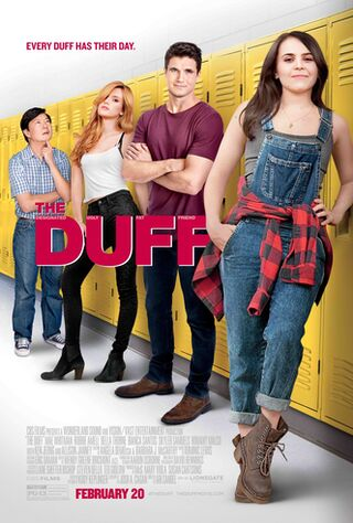 The DUFF (2015) Main Poster