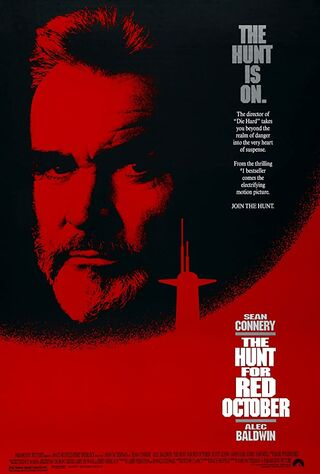 The Hunt For Red October (1990) Main Poster