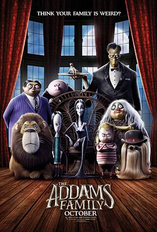 The Addams Family (2019) Main Poster