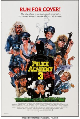 Police Academy 3: Back In Training (1986) Main Poster