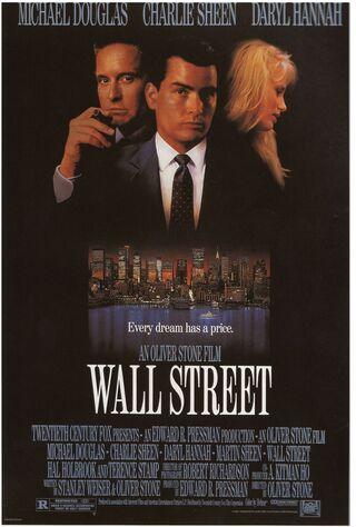 Wall Street (1987) Main Poster