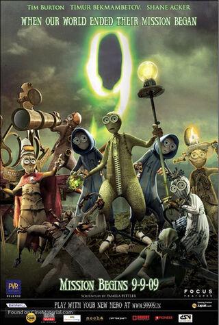 9 (2009) Main Poster
