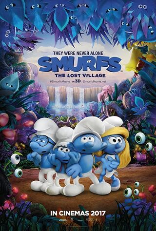 Smurfs: The Lost Village (2017) Main Poster