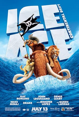 Ice Age: Continental Drift (2012) Main Poster