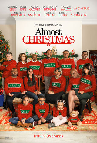 Almost Christmas (2016) Main Poster