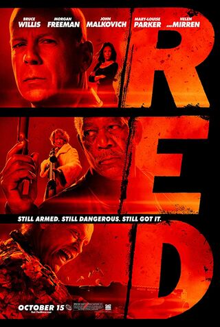 RED (2010) Main Poster
