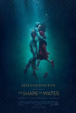 The Shape Of Water (2017) Main Poster