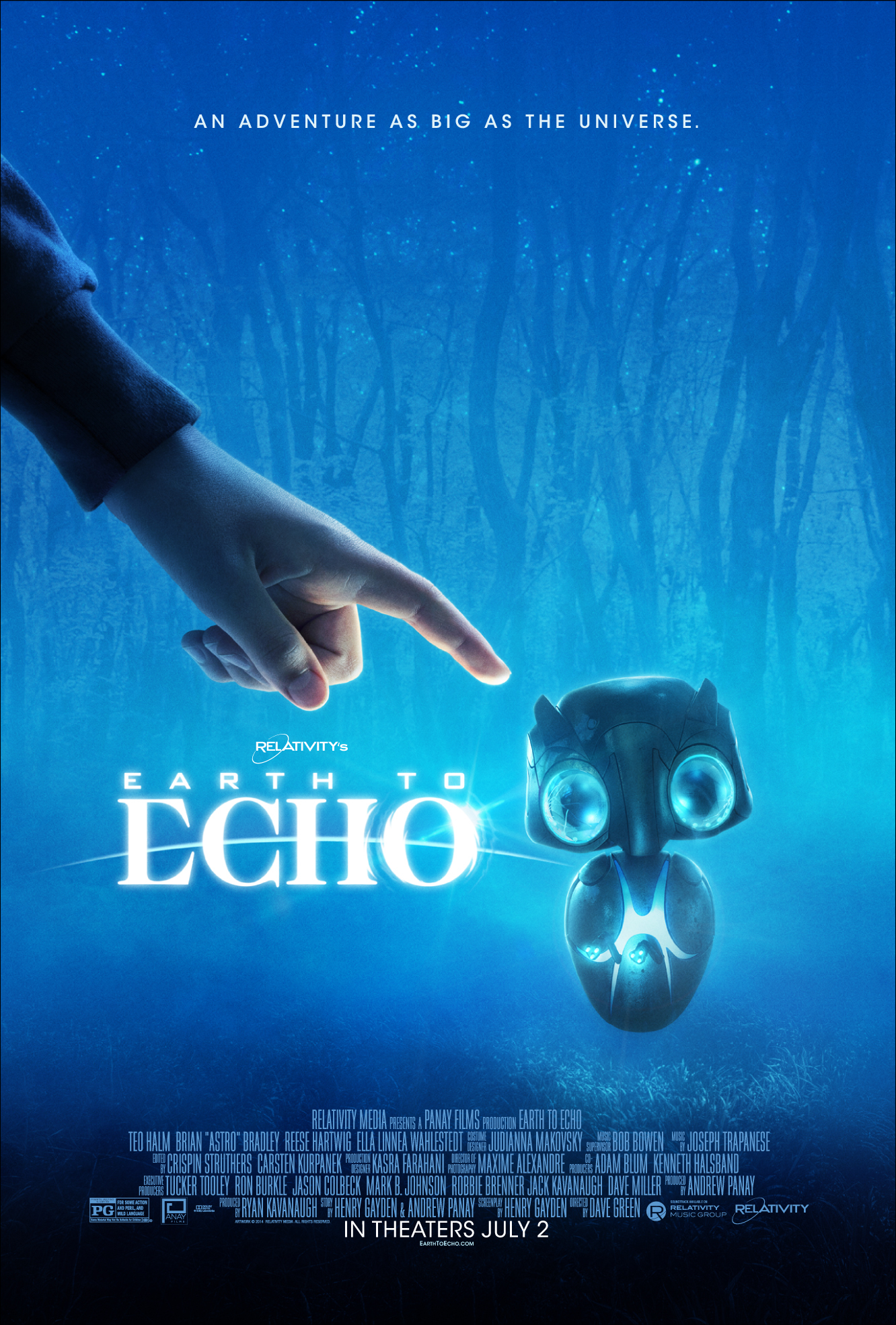 Earth To Echo (2014) Main Poster