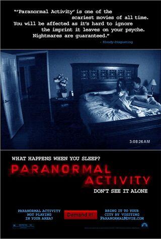 Paranormal Activity (2009) Main Poster